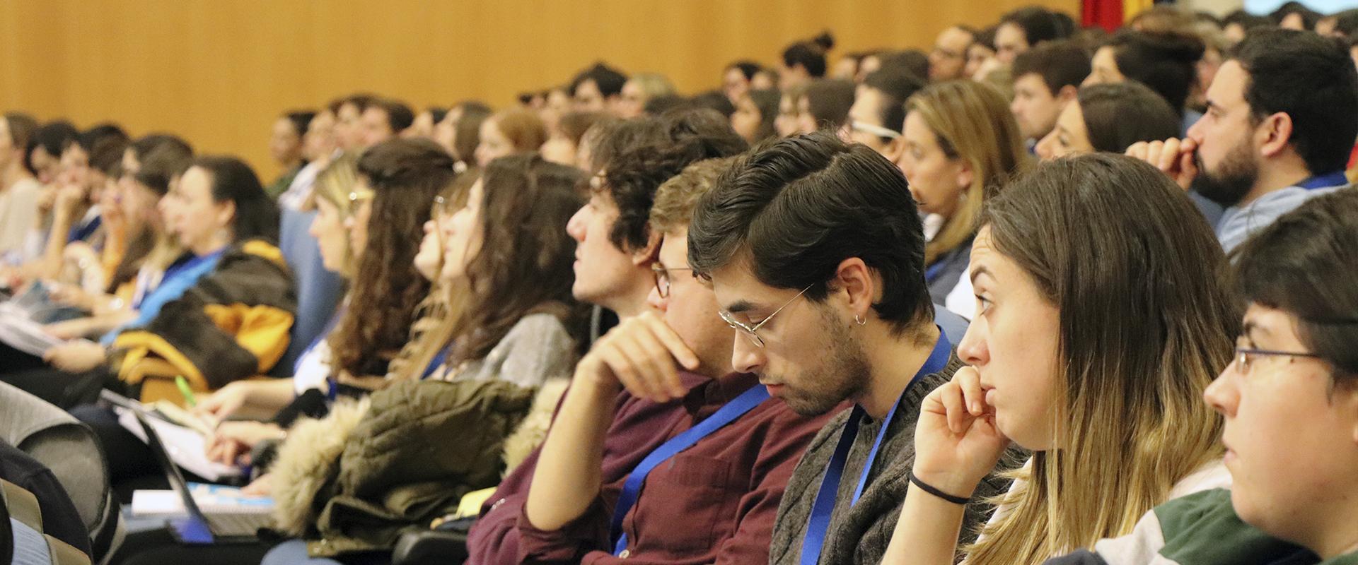 asistentes al curso de arritmias del HCSC