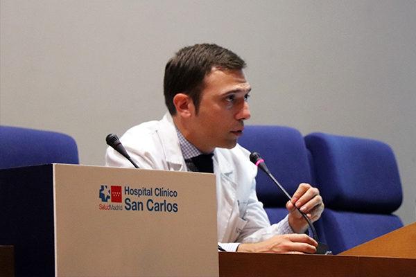 Dr. David Vivas, director del curso
